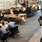 Le coworking ou espace de travail partagé